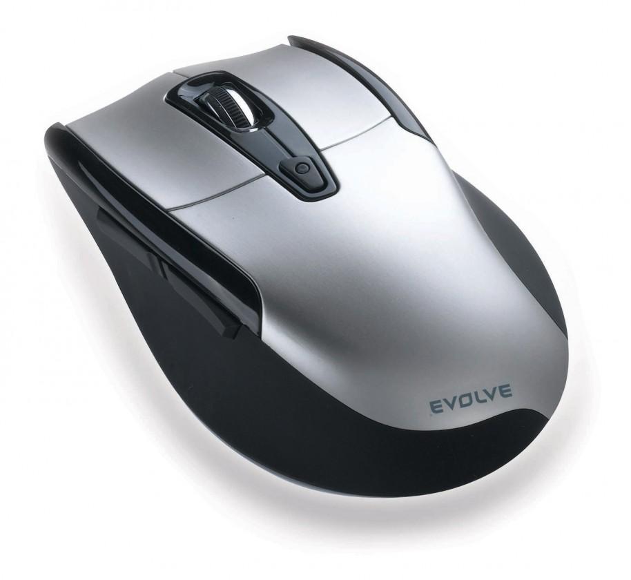 Bezdrátové myši EVOLVEO WM610S bezdrátová myš, stříbrno-černá