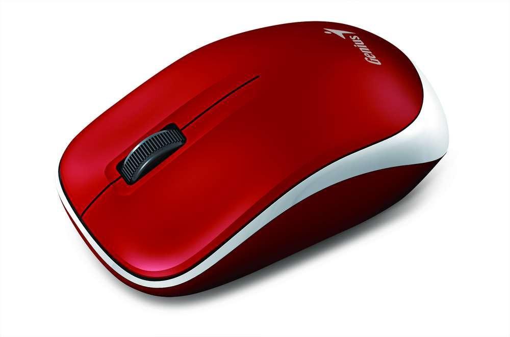 Bezdrátové myši Genius Bezdrátová myš Traveler 6000Z - bíločervená