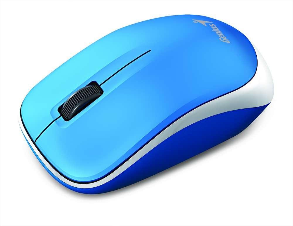 Bezdrátové myši Genius Bezdrátová myš Traveler 6000Z - bílomodrá