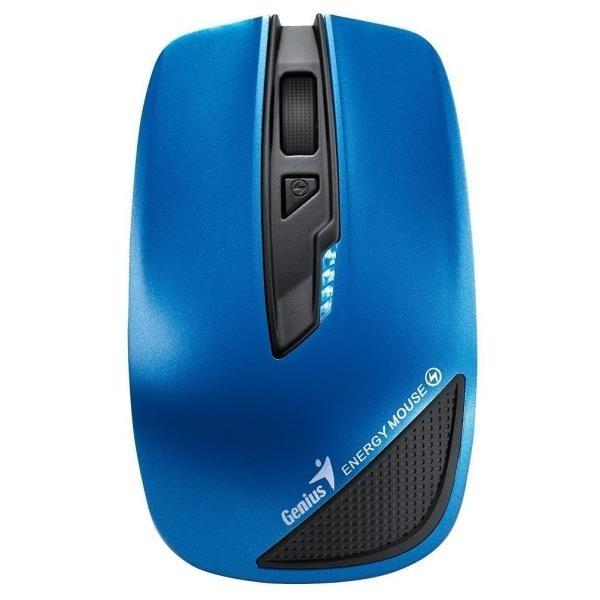 Bezdrátové myši Genius Energy Mouse, modrá (Power Bank 2700mAh)