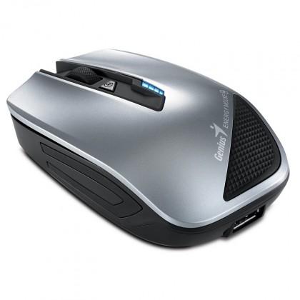 Bezdrátové myši Genius Energy Mouse, stříbrná ROZBALENO