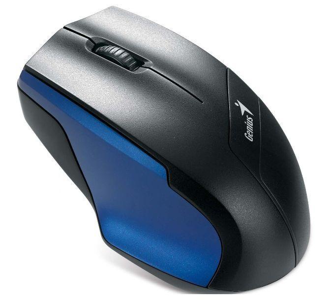 Bezdrátové myši Genius NS-6015, černá-modrá