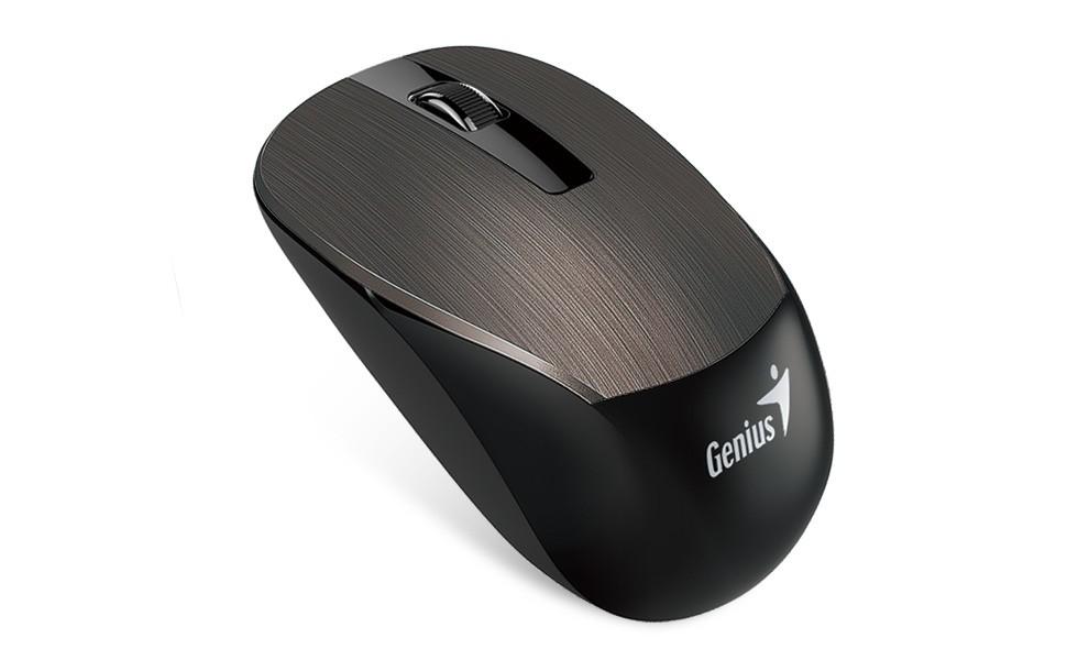 Bezdrátové myši Genius NX-7015 (31030119102), čokoládová