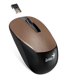 Bezdrátové myši Genius NX-7015 (31030119104), měděná