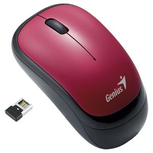 Bezdrátové myši Genius Traveler 6000, červená