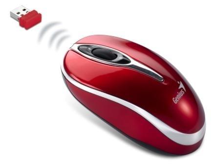 Bezdrátové myši Genius Traveler 900, červená