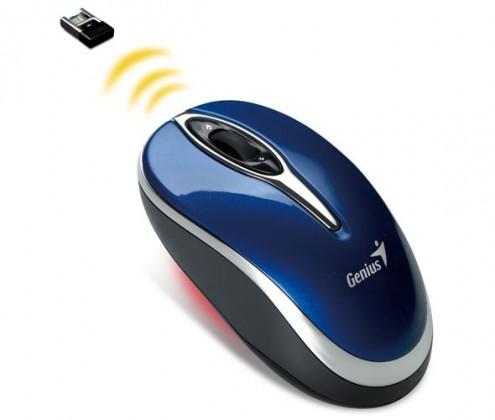 Bezdrátové myši Genius Traveler 900, modrá