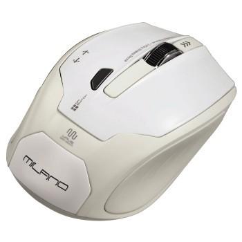 Bezdrátové myši Hama Milano, bílá