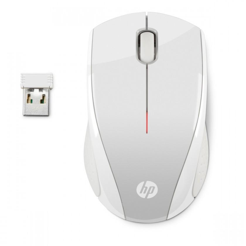 Bezdrátové myši HP myš x3000 bezdrátová zlatá stříbrná - 2HW68AA#ABB