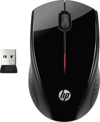 Bezdrátové myši HP Wireless mouse X3000, černá