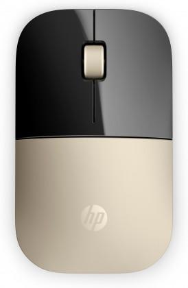 Bezdrátové myši HP Z3700 Wireless Mouse - Gold (X7Q43AA#ABB)