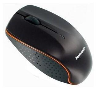 Bezdrátové myši Lenovo Wireless N30A, černá