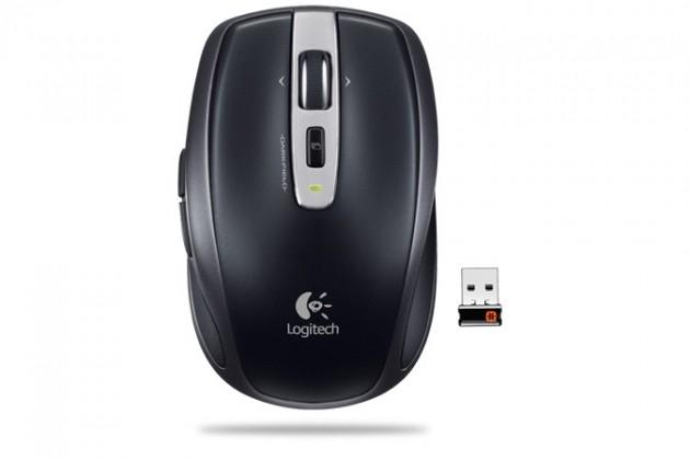 Bezdrátové myši Logitech Anywhere Mouse MX, černá
