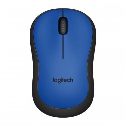 Bezdrátové myši Logitech M220 Silent Mouse for Wireless, modrá