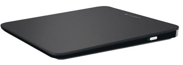 Bezdrátové myši Logitech Touchpad T650, černá