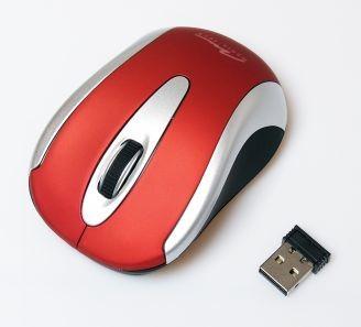 Bezdrátové myši Media-Tech MT-1098R, červená