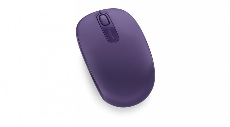 Bezdrátové myši Microsoft Wireless Mobile Mouse 1850 fialová