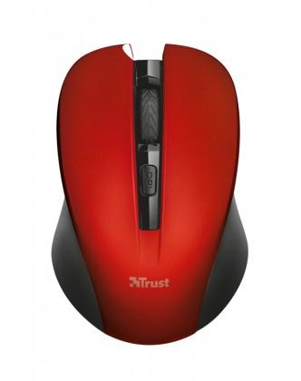Bezdrátové myši Mydo Silent Click Wireless Mouse - red