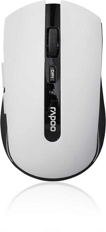 Bezdrátové myši Rapoo 7200p, bílá 6940056109378