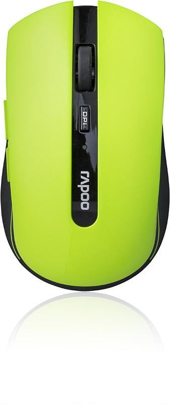 Bezdrátové myši Rapoo 7200p, zelená 6940056109408