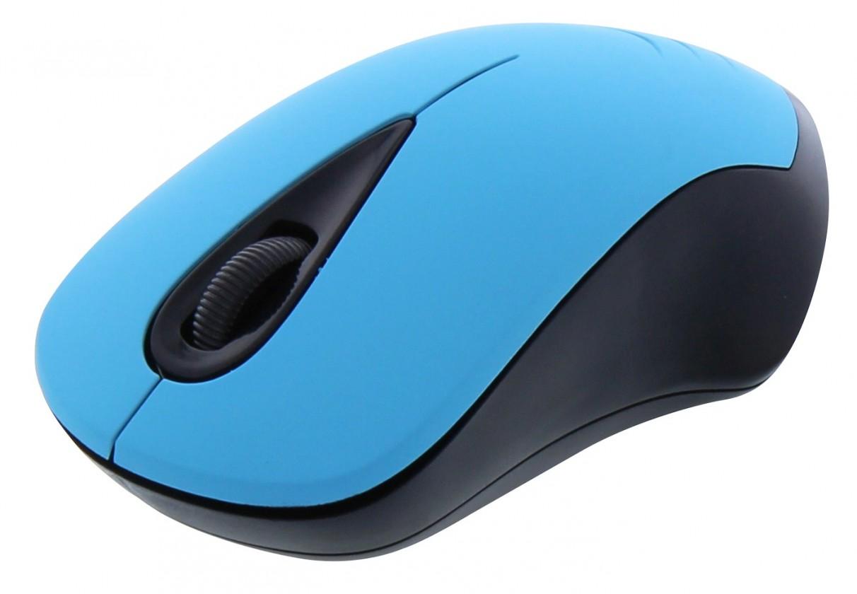 Bezdrátové myši TnB FANCY, modrá