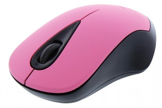 Bezdrátové myši TnB FANCY, růžová