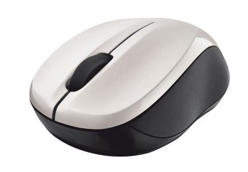 Bezdrátové myši Trust Vivy, bílá