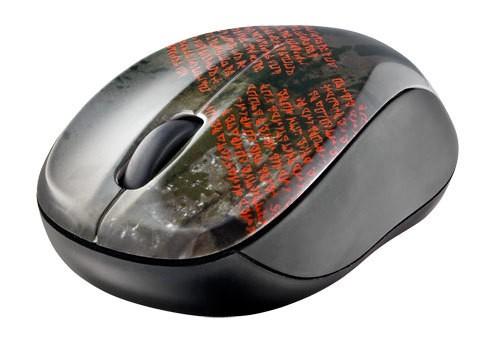 Bezdrátové myši Trust Vivy Wireless Mini Mouse, černá