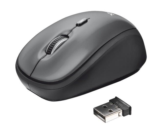 Bezdrátové myši Trust Yvi Wireless Mouse 18519