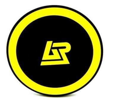 Bezdrátové nabíječky Apei Qi P1 Wireless Charging Pad (Black / Yellow)