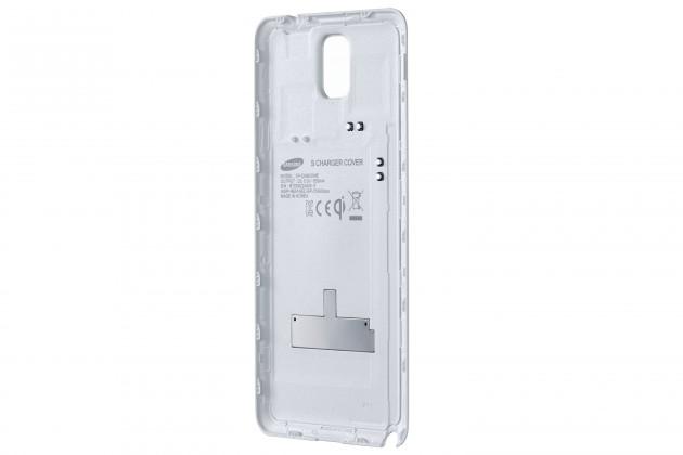 Bezdrátové nabíječky Samsung zadní kryt (bezdrát. nabíjení) pro Galaxy Note 3,bílá