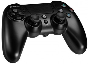 Bezdrátový gamepad s touchpadem pro PS4 Canyon CND-GPW5