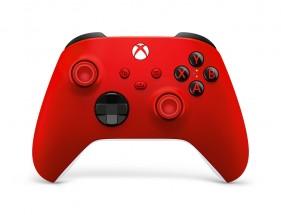 Bezdrátový ovladač Xbox One Series, červený
