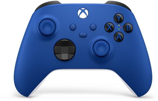 Bezdrátový ovladač Xbox One Series, modrý