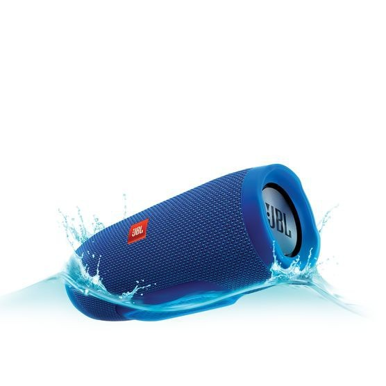 Bezdrátový reproduktor JBL Charge 3, modrá