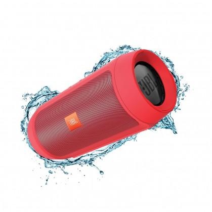 Bezdrátový reproduktor JBL Charge2+, červená