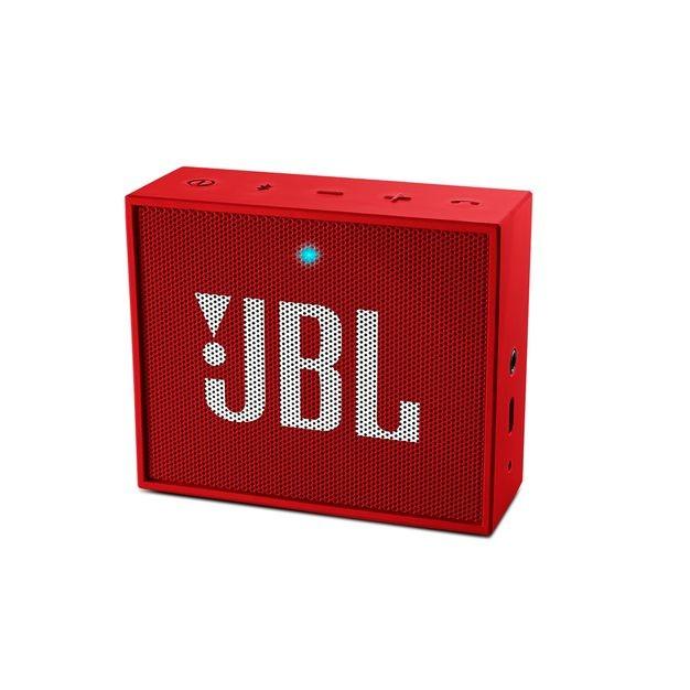 Bezdrátový reproduktor JBL GO, červené