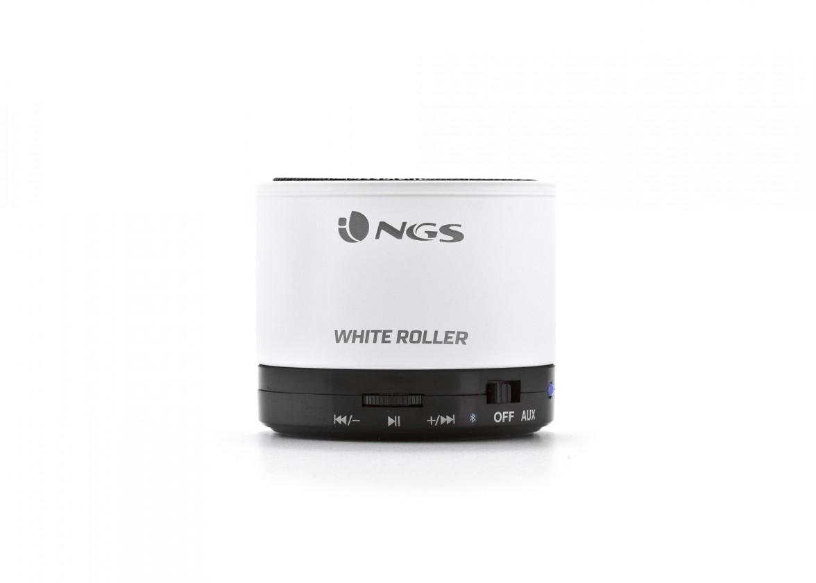 Bezdrátový reproduktor NGS White Roller