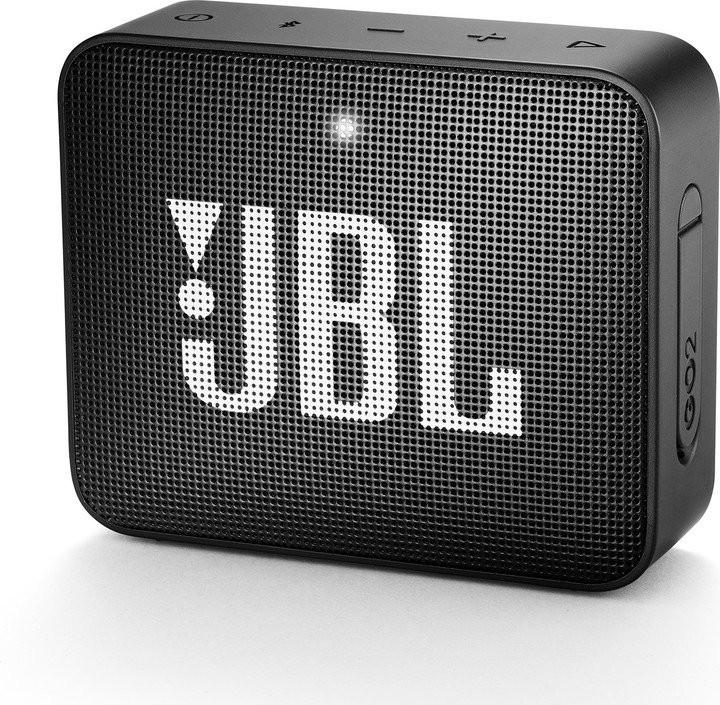 Bezdrátový reproduktor Přenosný reproduktor JBL Go 2 černý