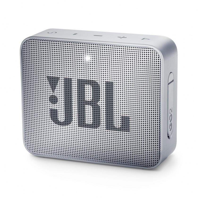 Bezdrátový reproduktor Přenosný reproduktor JBL Go 2 šedý