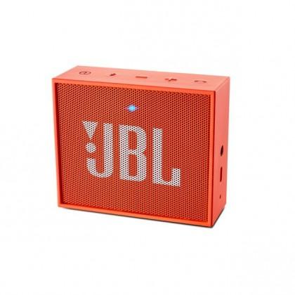 Bezdrátový reproduktor Přenosný reproduktor JBL Go oranžový