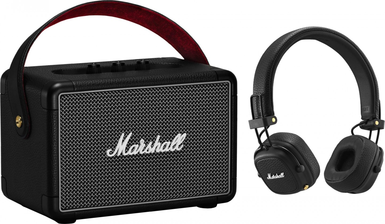 Bezdrátový reproduktor Set Marshall - reproduktor Killburn 2 a sluchátka Major 3 BT