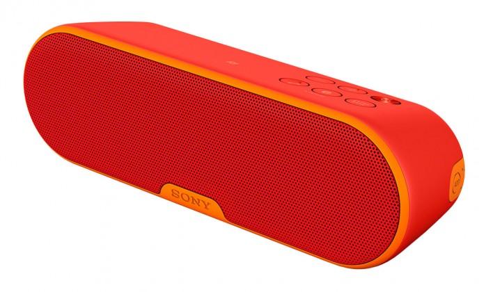 Bezdrátový reproduktor Sony SRS-XB2, červená
