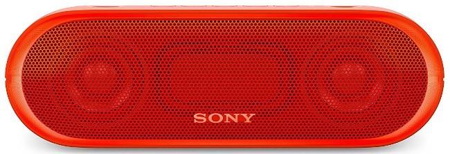 Bezdrátový reproduktor Sony SRS-XB20, červená POUŽITÉ, NEOPOTŘEBENÉ ZBOŽÍ