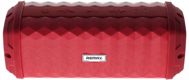 Bezdrátový reproduktor Voděodolný bluetooth reproduktor Remax RB-M12, červený