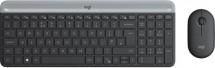 Bezdrátový set Logitech MK470, klávesnice+myš, CZ/SK, šedá