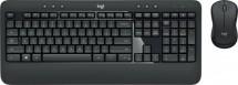 Bezdrátový set Logitech MK540 ADVANCED, CZ/SK, černá