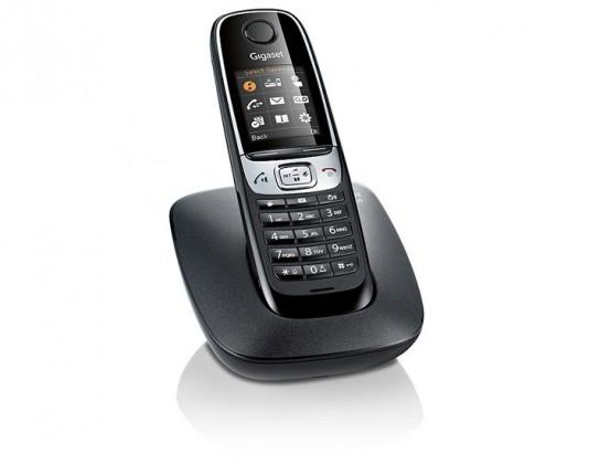 Bezdrátový telefon Siemens Gigaset C620 Shiny Black