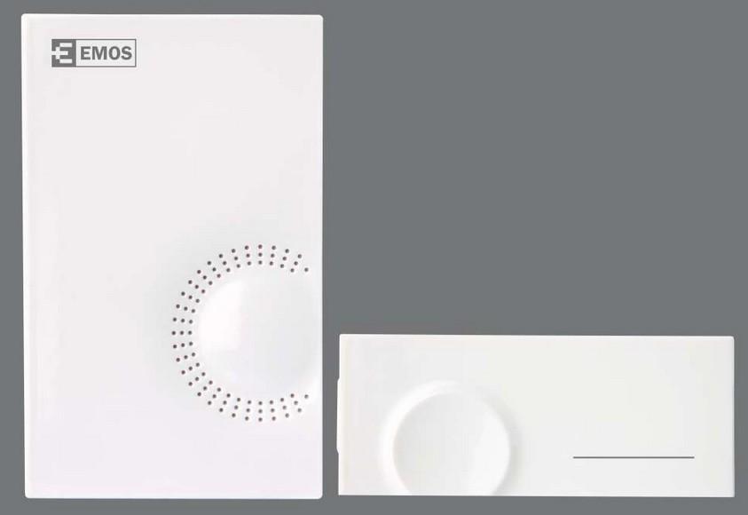 Bezdrátový zvonek Emos H-518D bílý