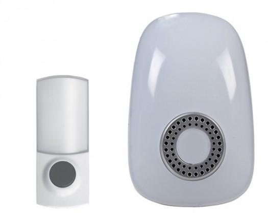 Bezdrátový zvonek Solight 1L38 bezdrátový zvonek, do zásuvky,150m,bílý